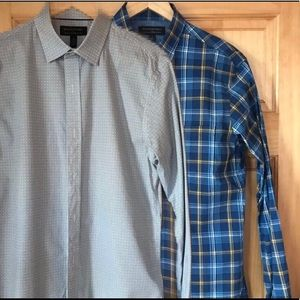 2 - Banana Republic Tailored Slim Shirts Size S